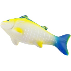 Imprinted Yellowfin Tuna Stress Ball