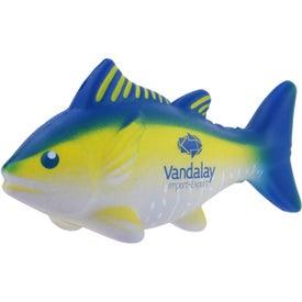 Logo Yellowfin Tuna Stress Ball