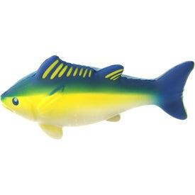 Personalized Yellowfin Tuna Stress Ball