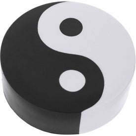 Yin and Yang Stress Ball Printed with Your Logo