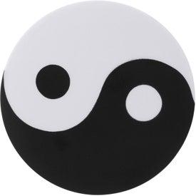 Printed Yin and Yang Stress Ball
