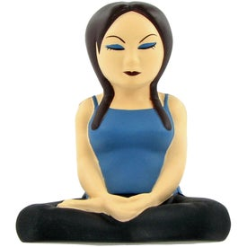 Customized Yoga Girl Stress Ball