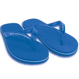 Branded Youth Flip Flops