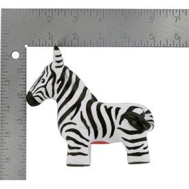 Logo Zebra Stress Reliever