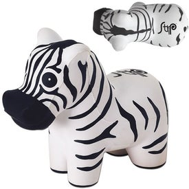 Zebra Stress Ball (Economy)