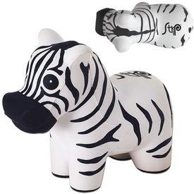 Zebra Stress Ball (Economy)