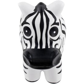 Zebra Stress Ball Printed with Your Logo