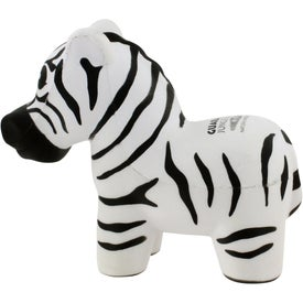 Zebra Stress Ball Giveaways