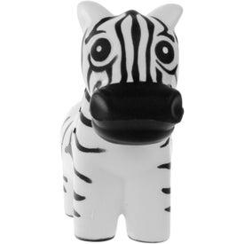 Advertising Zebra Stress Ball