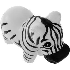 Imprinted Zebra Stress Ball