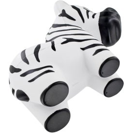 Personalized Zebra Stress Ball