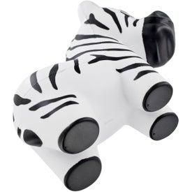 Personalized Zebra Stress Ball