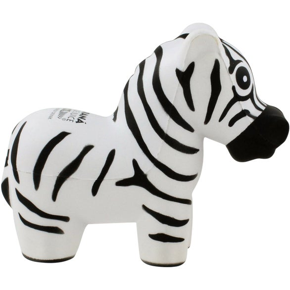 White / Black Zebra Stress Ball