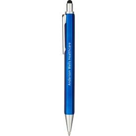 Level and Ruler Ballpoint Stylus Pen