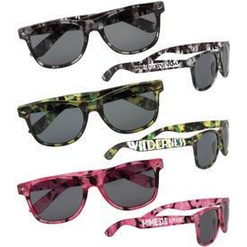 Camouflage Rim Sunglasses