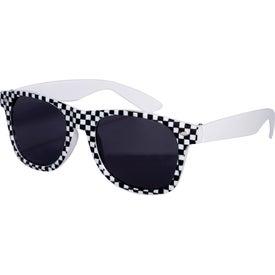 Checkered Flag Racing Theme Based Sunglasses