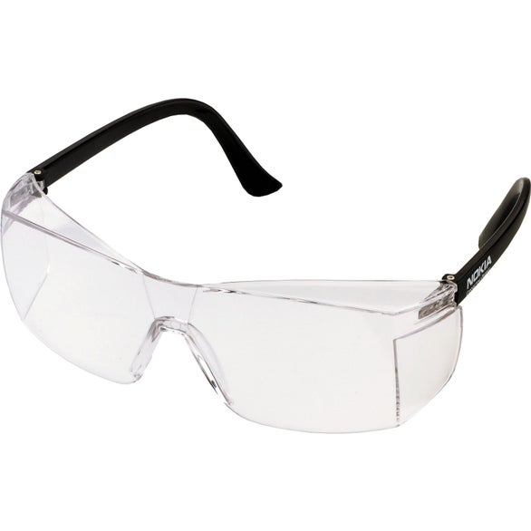 Black / Clear Chissel Safety Glasses