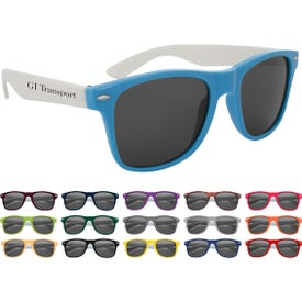 Colorblock Malibu Sunglasses (Unisex)