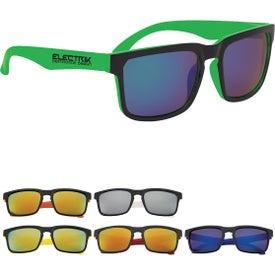 Crescent Mirrored Sunglasses