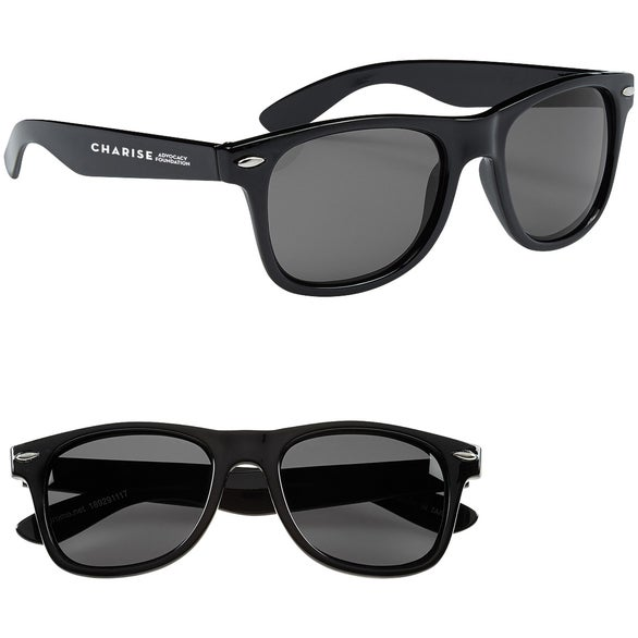 Black Floating Malibu Sunglasses