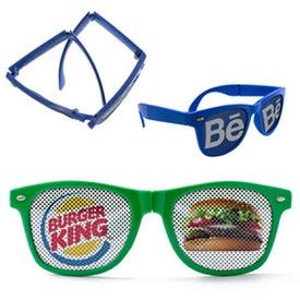 LensTek Folding Miami Sunglasses
