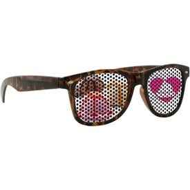 Lenstek Tortoise Miami Sunglasses