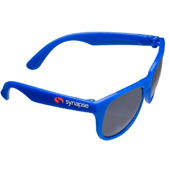 Blue Matte Finish Fashion Sunglasses