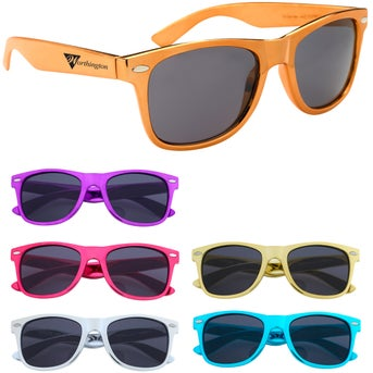 be3d5d55c8de8 CLICK HERE to Order Metallic Malibu Sunglasses Printed with Your ...