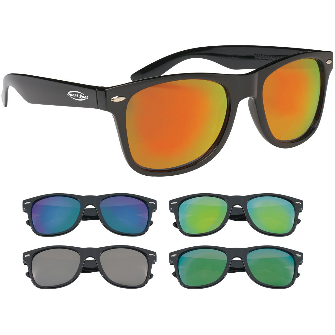 d38ba4f6 CLICK HERE to Order Mirrored Malibu Sunglasses Printed with Your Logo for  $2.24 Ea.