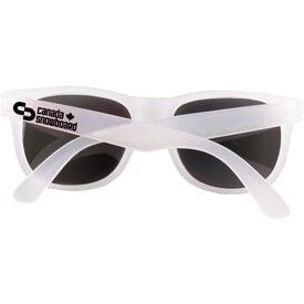 Imprinted Mood Shades Sunglasses