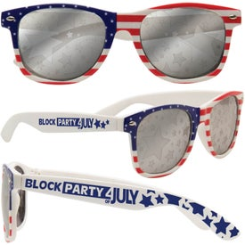 Patriotic Frame Sunglasses