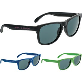 Plastic And Wheat Straw Sunglasses