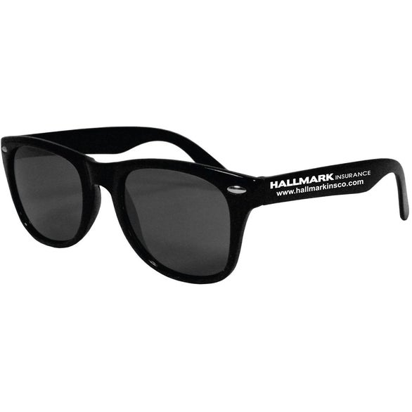 Black Plastic Sunglasses