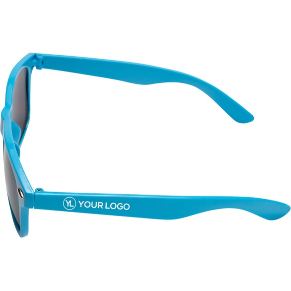 Carolina Blue Plastic Tahiti Sunglasses