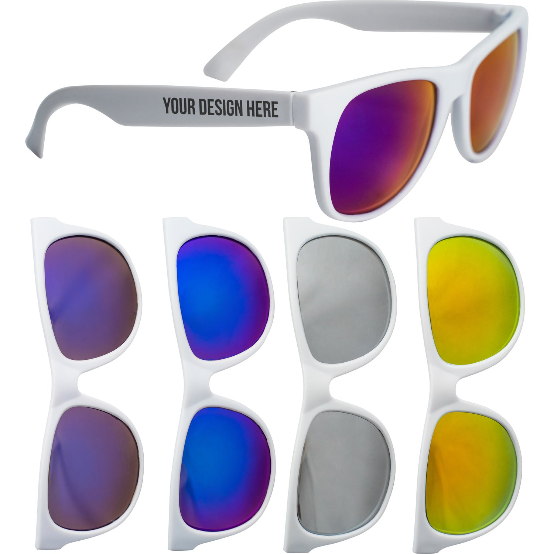 Reflector Mirrored Sunglasses