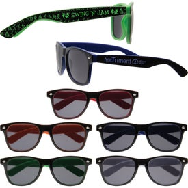 Do Sunglasses Have Sizes  promotional two tone malibu sunglasses with custom logo for 1 86 ea