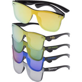 Upper Decks Mirrored Sunglasses
