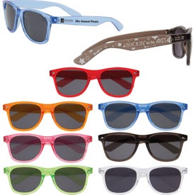 Vibrant Translucent Sunglasses