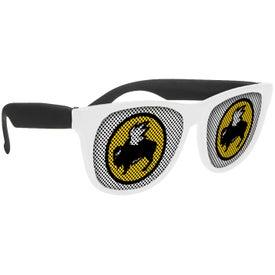 White-Framed LensTek Sunglasses