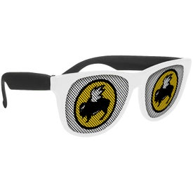 White-Framed LensTek Sunglasses (Unisex)