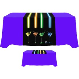 "Table Runner (Front, Top, 60"" x 30"", Full Color Logo)"