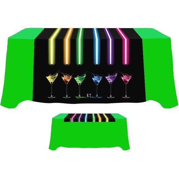 """Digital Table Runner (60"""" x 60"""")"""