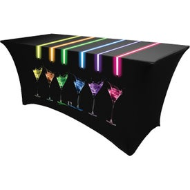 Fitted Spandex Table Cover (8')