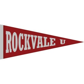 Custom Printed Felt Pennants (12