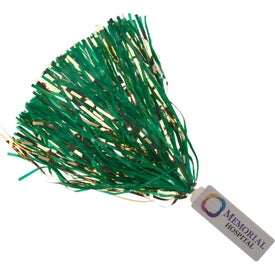 Spirit Stick Pom with Glitter Streamers (18