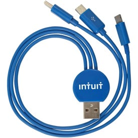 3-in-1 Multi USB Adapter Charging Cable