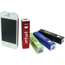 Metallic Power Bank (2600 mAh)