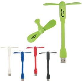 Mini USB Two Blade Flexible Fan