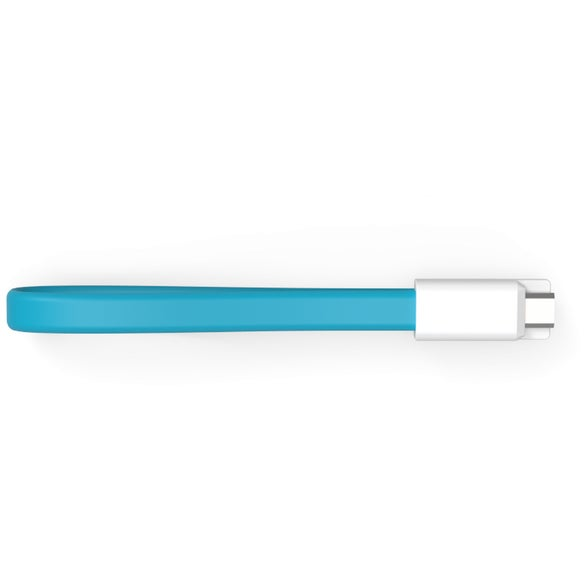 Teal The Loop Micro-USB Cable
