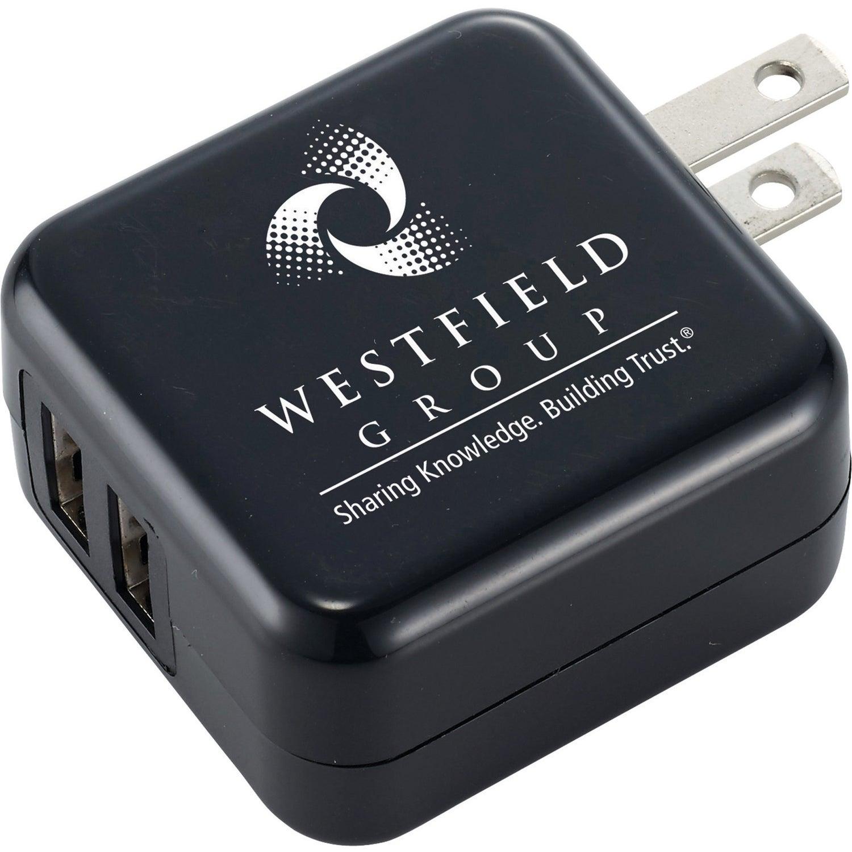 UL Certified Dual USB AC Adaptor